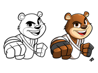 Teddy Bear Jiu Jitsu