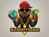 Mascot design - RichOffTheNet