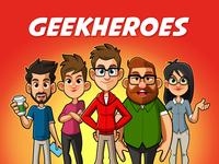 GeekHeroes Character design