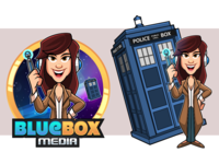 Character design - BlueBox