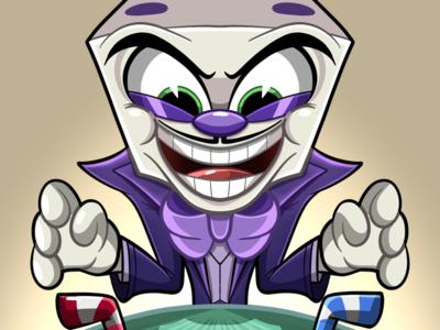 King dice illustration