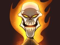 Headshot 2 - Ghost Rider