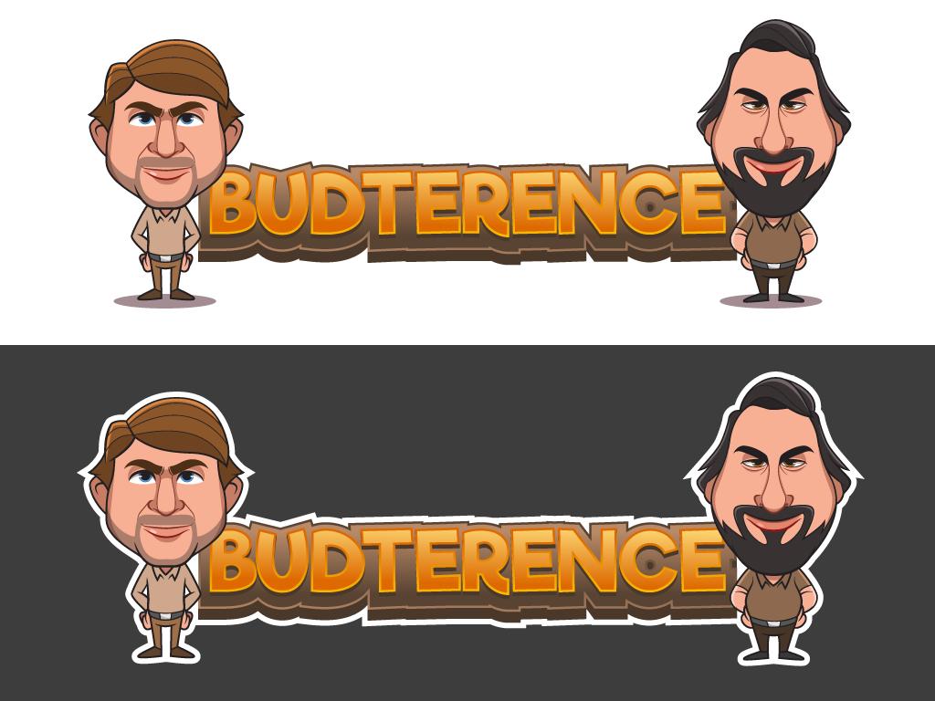 Budternce Caricature design vector digital art illustration mascot design mascot character cartoon character design drawing
