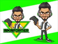 Mascot design - Inkinformer