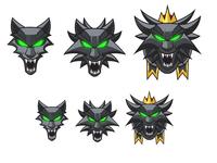 Wolf Badges Evolution