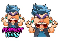 Character design- Feminist Tears