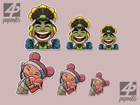 Lucio and Lifeline Emotes