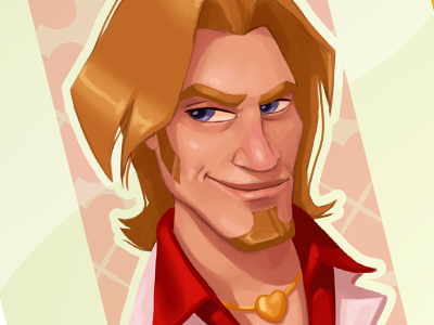 Jack Of Hearts character design catrooning sketch game art