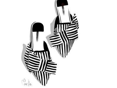 Fashion shoes illustration fashion illustrator ipadpro fashion portrait fashion illustration digital painting fashion illustration procreate digitalart illustration art