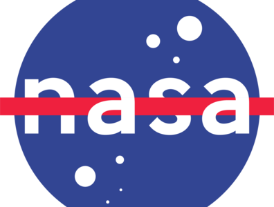 Nasa Type Logo logo illustration