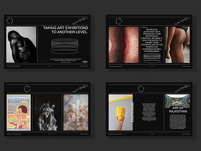 The Design Junkies - A Website Mockup design agency user interface web prototype website design mockup website mockup website ux branding logo ui adobexd vector typography graphic design illustration design