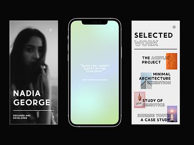 iPhone Mockups menu graphic design prototype website mockup ux uxui ui branding app mockup app design mobile design mobile mockup adobexd typography design