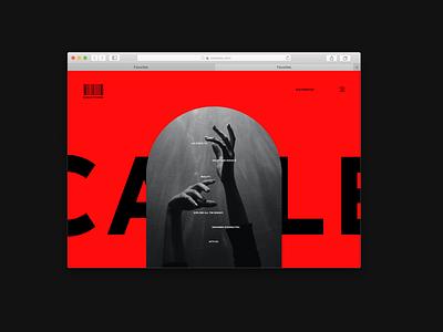 Scarlet Studios - A website mockup web page mockup macbook macbook window mockup prototype website website design website mockup mockup uxui ux ui logo branding adobexd vector typography design