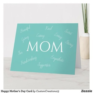 Card for MOM design zazzle beautiful love card mom