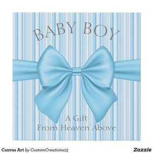 Baby Boy Nursery Decor zazzle wall design boy babies baby nursery wall decor art