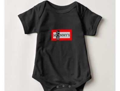 Mommy's Boy One Piece zazzle moms mommy boys boy babies onepiece baby