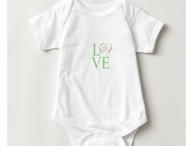 LOVE one-piece for baby girl baby shower allyouneedislove pretty cute zazzle onesie onepiece girls girl babies baby