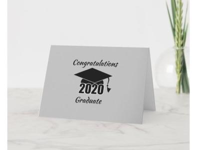 Congratulations  Graduate zazzle celebrate graduation car seniors graduate congratulations congrats card
