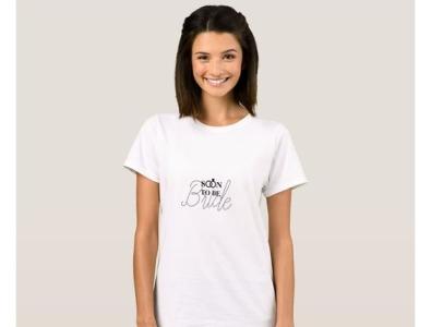 Soon To Be Bride t-shirt shirts womensshirts zazzle bachelorette wedding soontobe bride