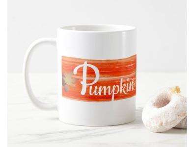 Pumpkin Spice Mug zazzle mug leaves fall spice pumpkin pumpkin spice