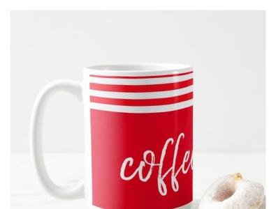 Coffee is Life Mug dinnerware kitchenware home gift life coffee mug zazzle