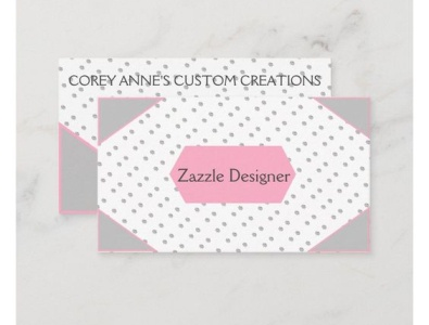 Designer Business Card cards businesscard business designer zazzle