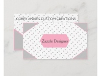 Designer Business Card cards businesscard business designer zazzle
