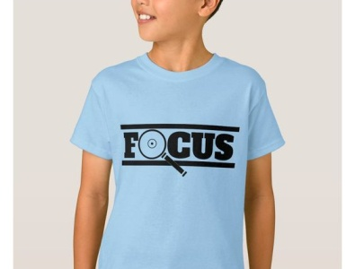 Focus shirt for boys design zazzle stayfocused kids boy boys adhd add focused focus