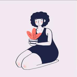 my dear flower icon animation minimal illustration photoshop logo illustrator illustrations designer design
