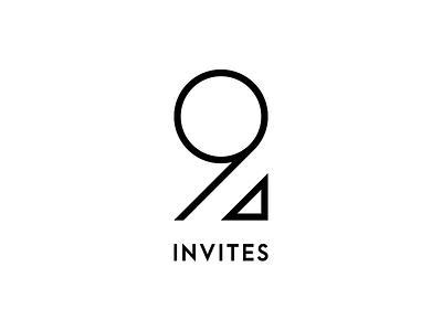 2 INVITES black and white negativebear join dribbble invitations invites two 2
