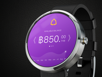 SCB smart watch app