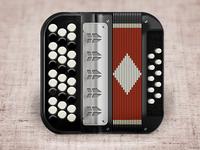 Accordion IOS icon ... баян ))