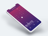 Heart Rate Monitor App - Calendar