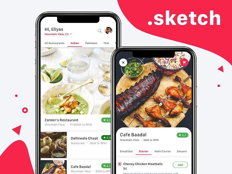 iPhone X - Food Delivery Freebie iphone app freebie delivery food iphonex