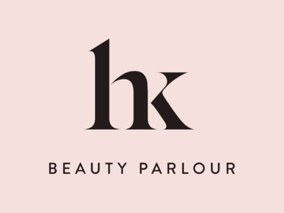 Beauty Parlour - Logo parlour identity mark brand monogram saloon beauty logo