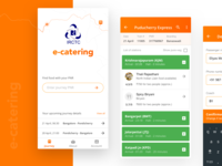 Food delivery app (IRCTC e-catering)