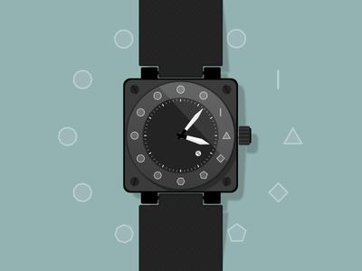 Polygonal Watch Concept