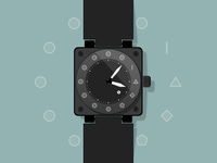 Polygonal Watch Concept