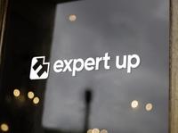 E + ⬆⬆ expert branding arrows up logo arrow e e logomark e logo logo expert up