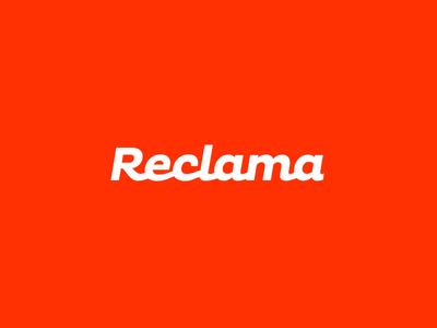 Reclama Logo Design