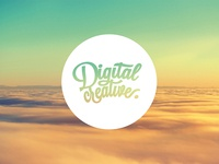 Digital Creative 'Wallpaper' wallpaper digital creative self promotion logo circle round flat clouds