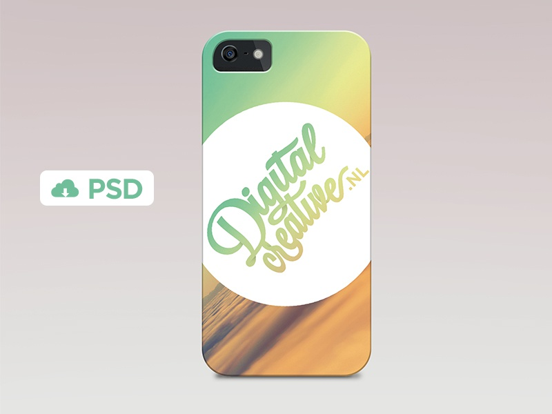 IPhone 5s Case PSD