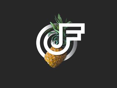 OTFLOW Pineapple otflow flow branding ananas pineapples pineapple logo
