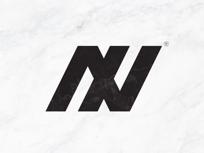 A X V monogram logo monogram black white design axv logo