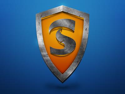 Shield dribbble