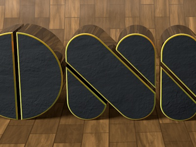 First steps in 3D 4d cinema text name letter 3d render font
