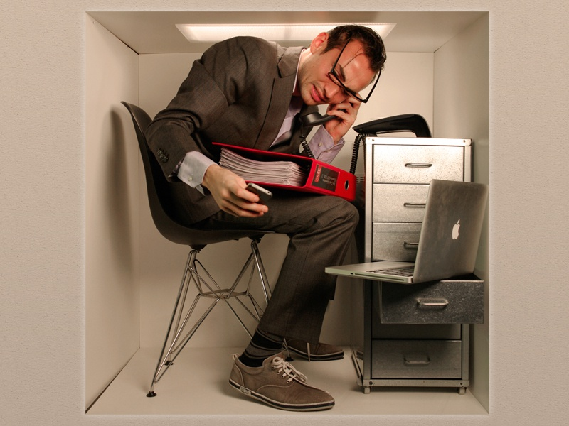 Image result for smallest office in the world
