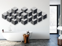 Cubes Wall Art