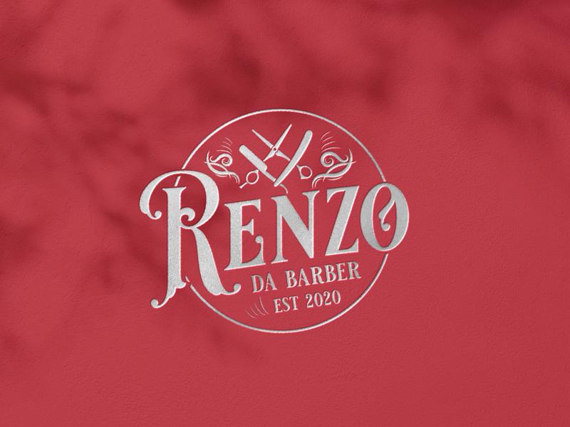 Renzo Da Barber vintagelogo logodesignersworld badge badgelogo emblemlogo emblem barbershop logo barber logo logodesign logo logos branding graphicdesigner logoworlddesigners logomaker logodesignworldwide logodesignerforhire graphicdesigninspiration graphicdesign illustrator