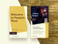 Peoples Place App Concept